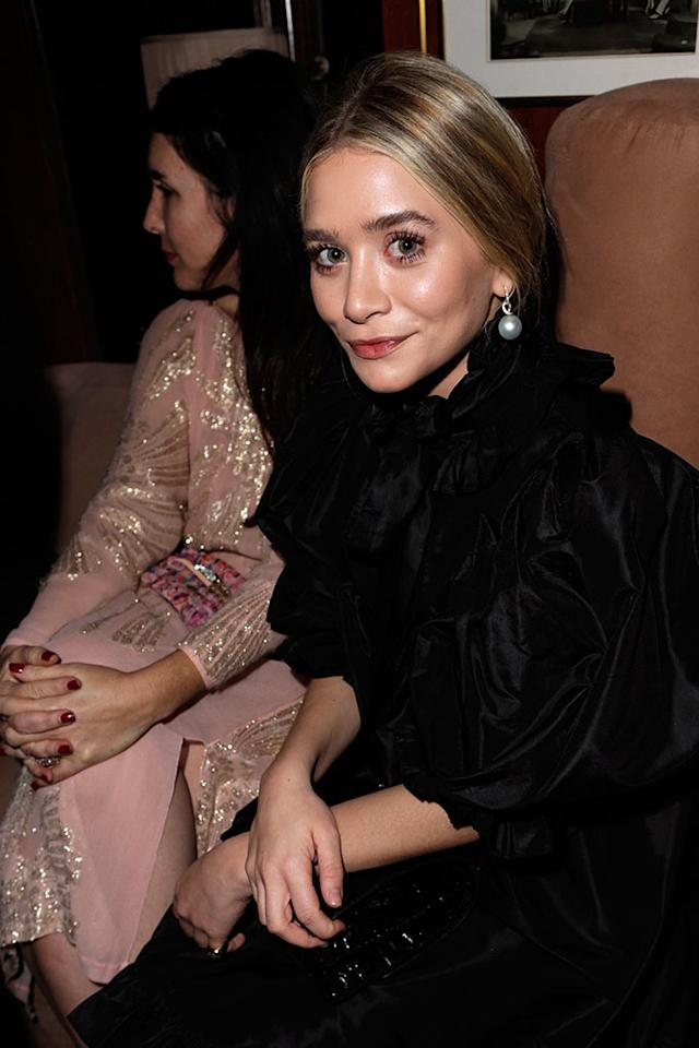 Ashley Olsen attends the 2013 Vanity Fair Oscar Party hosted by Graydon Carter at Sunset Tower on February 24, 2013 in West Hollywood, California.
