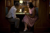 """These images were taken throughout the last four months of Barack Obama's presidential campaign and were used by the campaign in television advertising, the web, social media, and print literature. (Scout Tufankjian, United States, Shortlist, Campaign, Professional Competition, 2013) <br> <br> <a href=""""http://worldphoto.org/about-the-sony-world-photography-awards/"""" rel=""""nofollow noopener"""" target=""""_blank"""" data-ylk=""""slk:Click here to see the full shortlist at World Photography Organisation"""" class=""""link rapid-noclick-resp"""">Click here to see the full shortlist at World Photography Organisation</a>"""