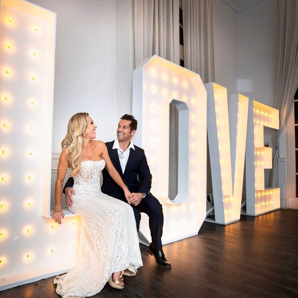 The couple have shared that they still love each other, despite Braunwyn saying she's never been attracted to men. Photo: Bravo