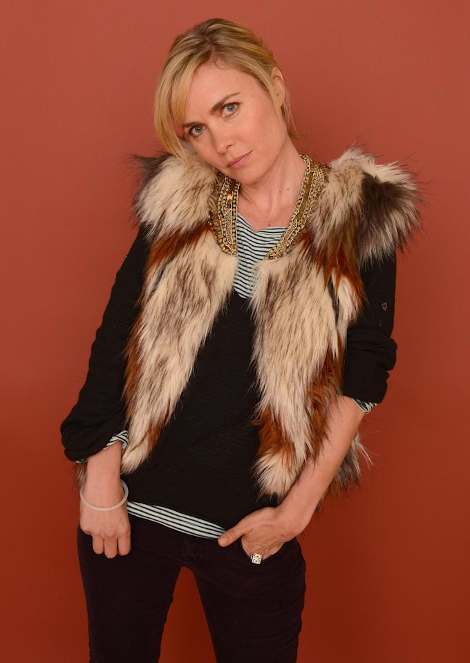 PARK CITY, UT - JANUARY 22:  Actress Radha Mitchell poses for a portrait during the 2013 Sundance Film Festival at the Getty Images Portrait Studio at Village at the Lift on January 22, 2013 in Park City, Utah.  (Photo by Larry Busacca/Getty Images)