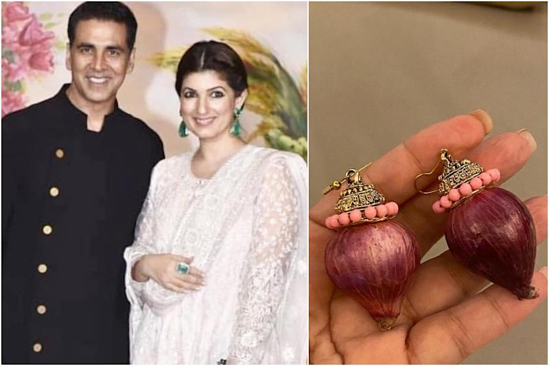 Akshay Kumar Pleases Twinkle Khanna by Gifting Her Pair of 'Onion Earrings' from Kapil Sharma Show