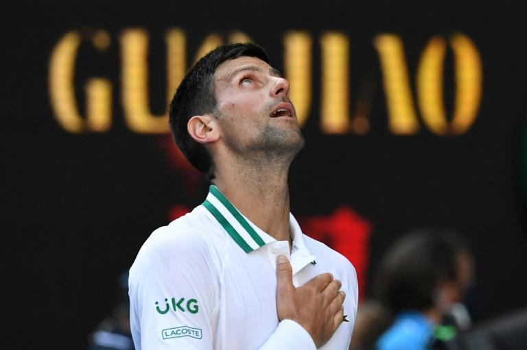 Serbia's Novak Djokovic beat Frances Tiafoe in round two