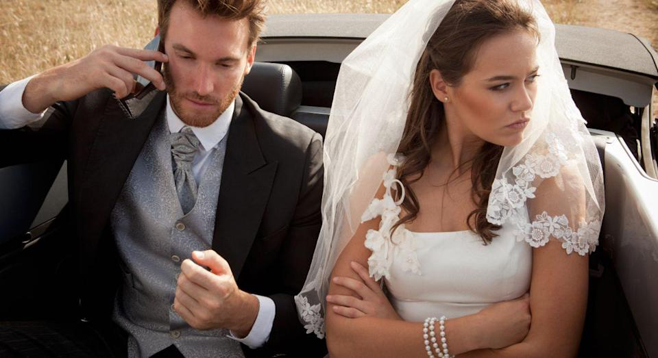 """His brother has described how the groom has gone """"crazy"""" over his wedding. [Photo: Getty]"""