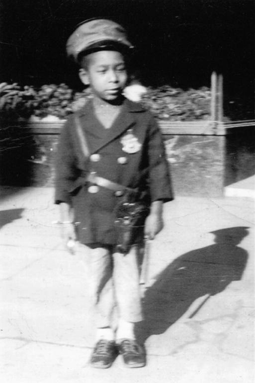 This 1936 image, courtesy of Dan Smith and Loretta Neumann, shows Dan Smith at the age of four