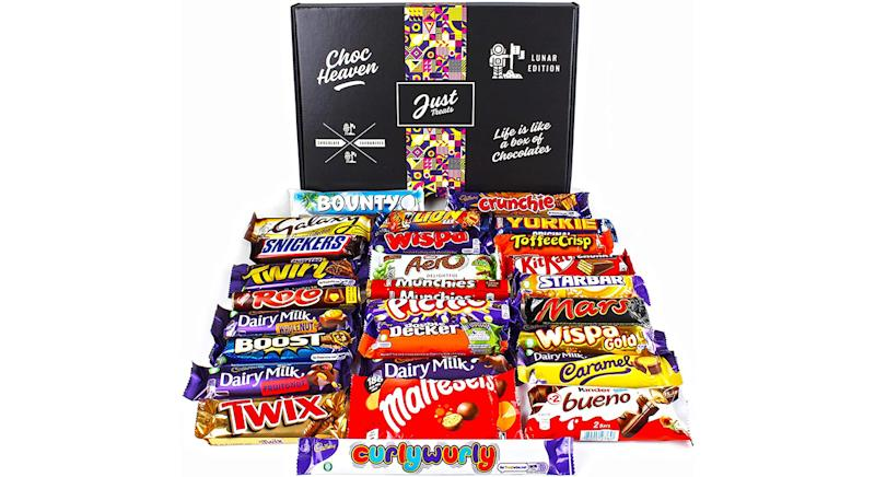Chocolate Lovers Hamper Lunar Box