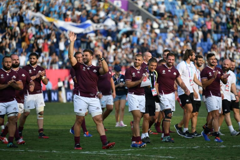 Georgia's Lelos have featured at every Rugby World Cup since 2003