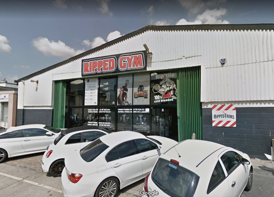 The Ripped Gym, pictured in July 2018. (Google Maps)