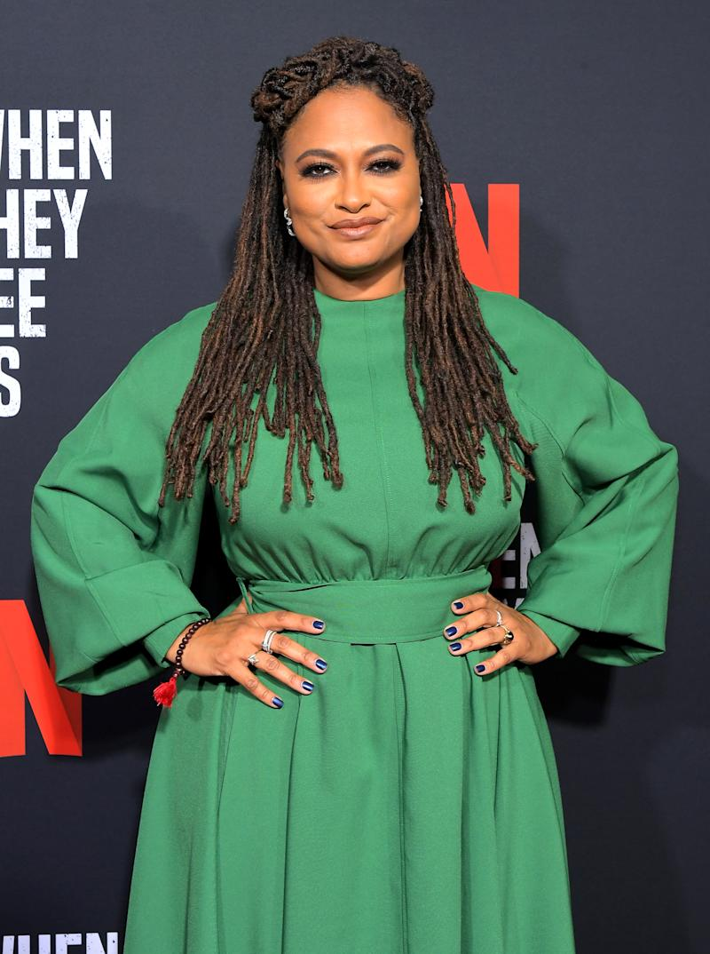 Ava DuVernay is encouraging black youth to embrace their natural locs in wake of problematic viral photos of a white woman cutting off a black boy's hair. (Photo: Getty Images)