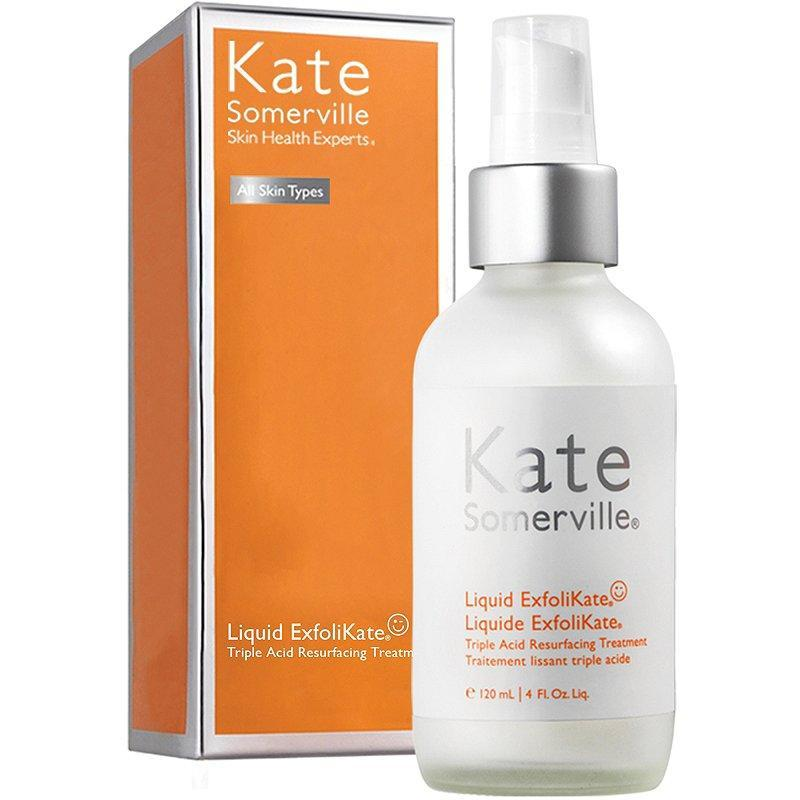 """<p>If adding a toner to your mix feels like an unnecessary middle step, the Best of Beauty-winning Liquid Exfolikate by Kate Somerville may change your mind. Think of this toner, packed with alpha hydroxy acids and fruit enzymes, as a multi-purpose treatment that helps get rid of dead skin buildup so that your products absorb better. Spritz it on a night right before your moisturizer and sunscreen.</p> <p><strong>$58</strong> (<a href=""""https://www.sephora.com/product/liquid-exfolikate-triple-acid-resurfacing-treatment-P439927"""" rel=""""nofollow noopener"""" target=""""_blank"""" data-ylk=""""slk:Shop Now"""" class=""""link rapid-noclick-resp"""">Shop Now</a>)</p>"""