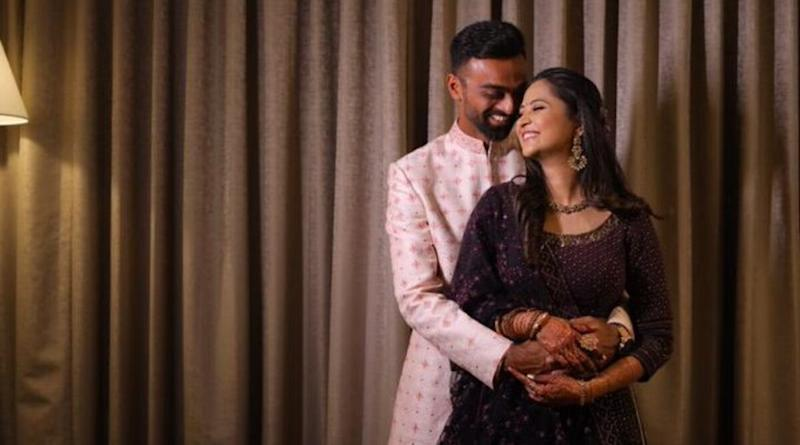 Jaydev Unadkat Announces Engagement, Poses for Adorable Picture With Fiancee Rinny