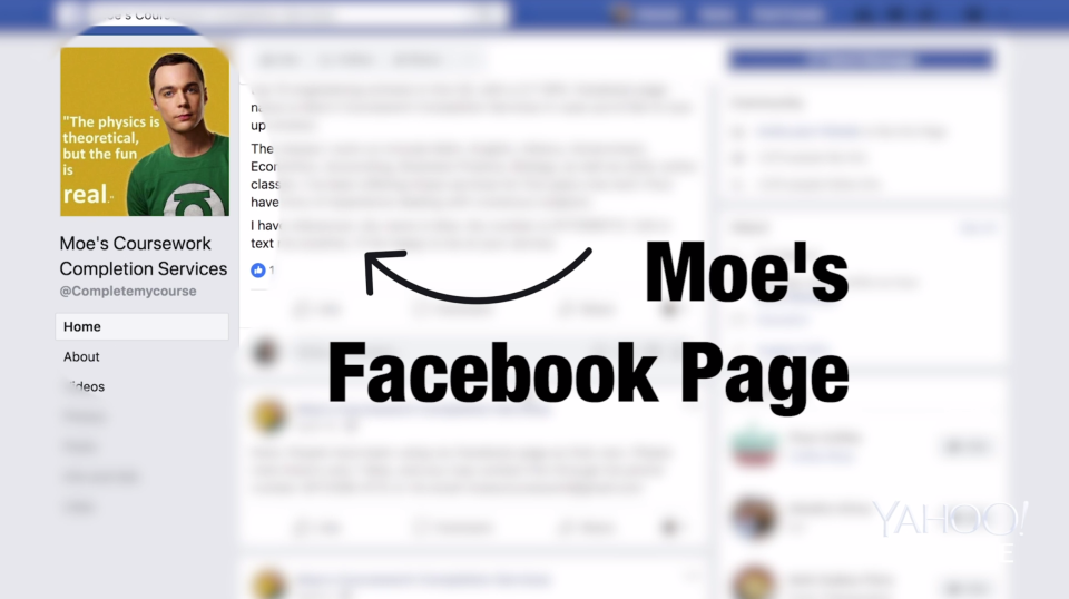 Students will reach out to Moe's paper mill through its public Facebook page. (Photo: Yahoo Finance)