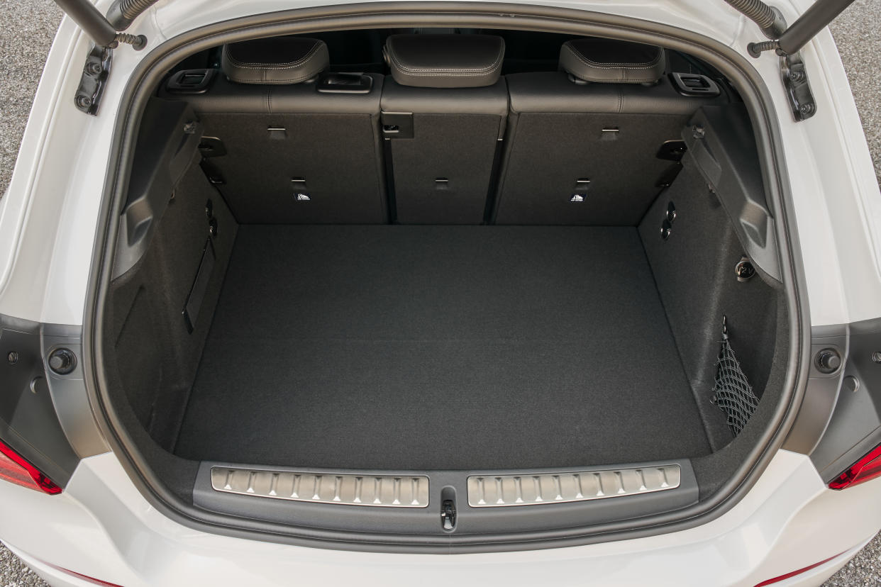 The new 1 Series' boot is 20 litres larger than the outgoing model