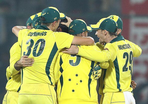 Australia clinched the series 3-2