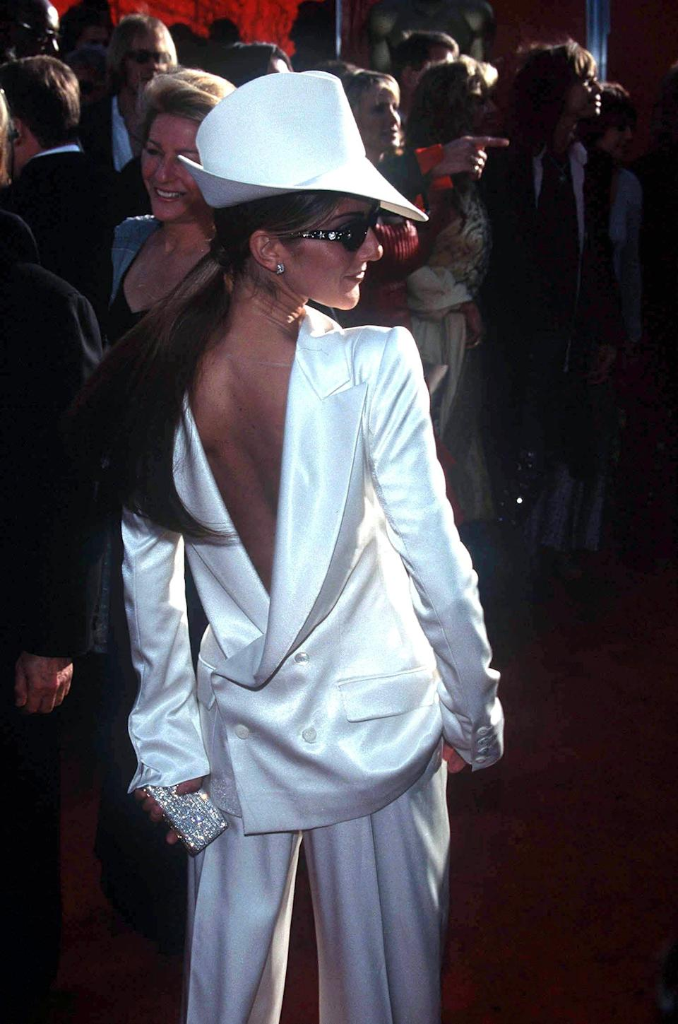 Celine Dion at the 1999 ceremonyShutterstock