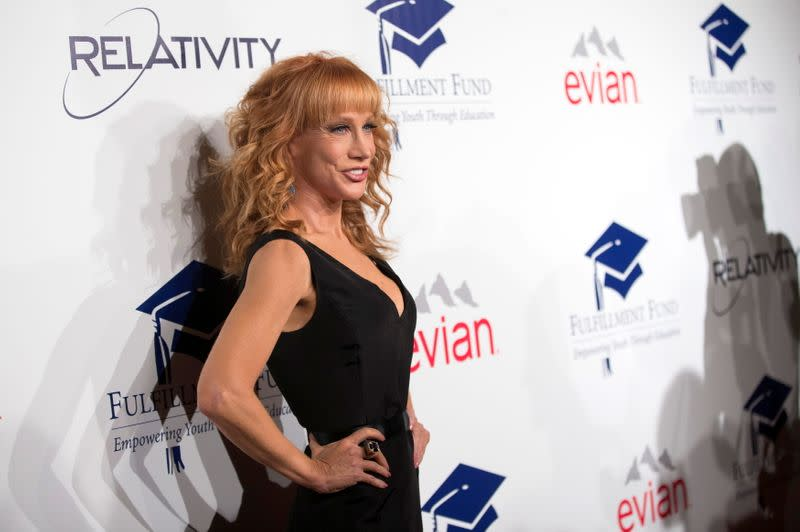 FILE PHOTO: Comedian Griffin poses at the 20th Annual Fulfillment Fund Stars benefit gala in Beverly Hills
