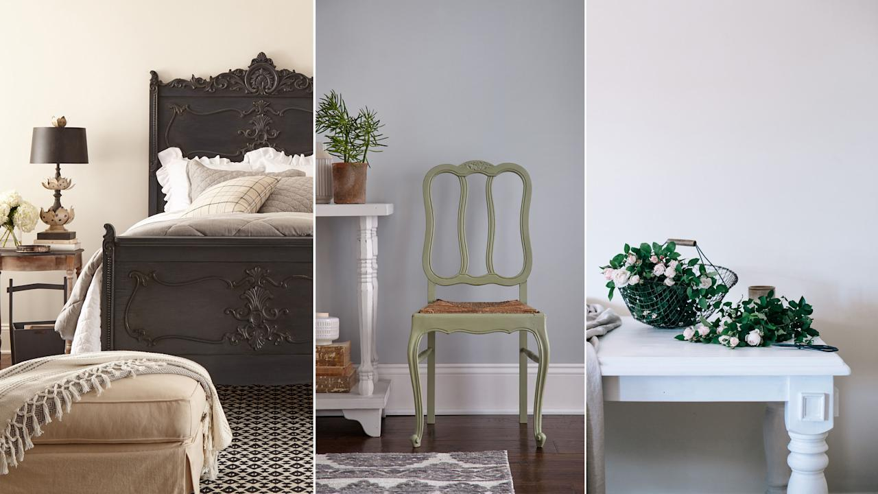 16 Best Chalky Paint Colors For Fresh Farmhouse Style