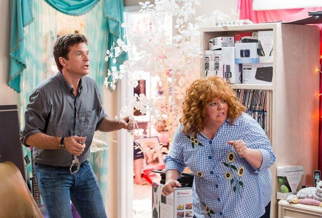 Jason Bateman and Melissa McCarthy in 'Identity Thief'