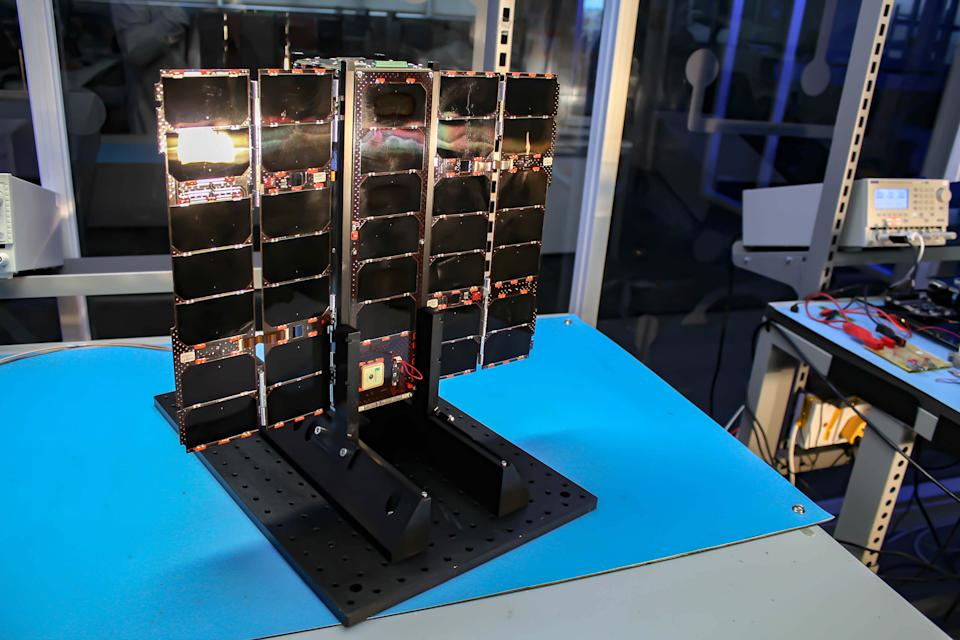 A sister satellite called CASE is set to be launched from the Satish Dhawan Space Centre on India's Polar Satellite Launch Vehicle later this month.