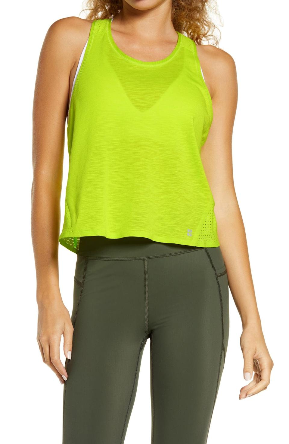 <p><span>Sweaty Betty Pulse Running Tank</span> ($25, originally $68)</p>