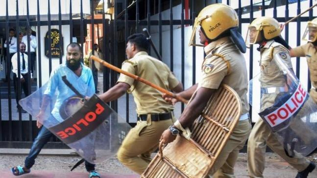 On Wednesday evening, an activist of the Sabarimala Karma Samithi was injured in a clash between workers of the BJP and the ruling CPI(M). He succumbed to his injuries at a hospital in Pandalam late night.