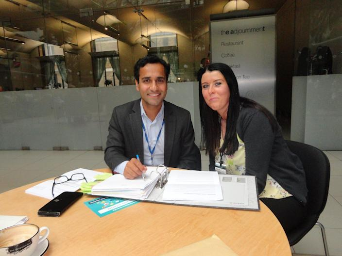 Rehman Chishti and Mandy Lowe have been working together to bring this law to life. (Mandy Lowe)