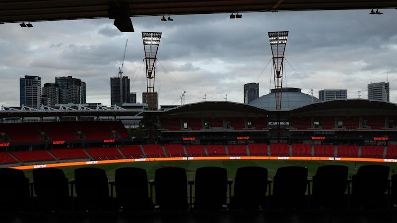 The lights could be turned off on the AFL season due to the coronavirus pandemic