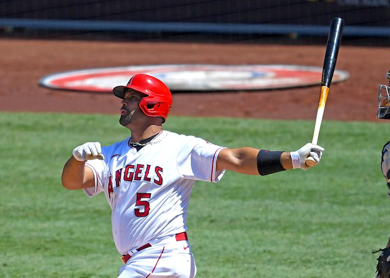 Albert Pujols slugs his way into elite company. (Photo by Jayne Kamin-Oncea/Getty Images)