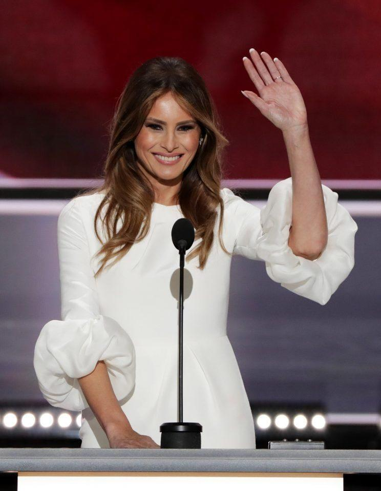 Melania Trump at the Republican National Convention