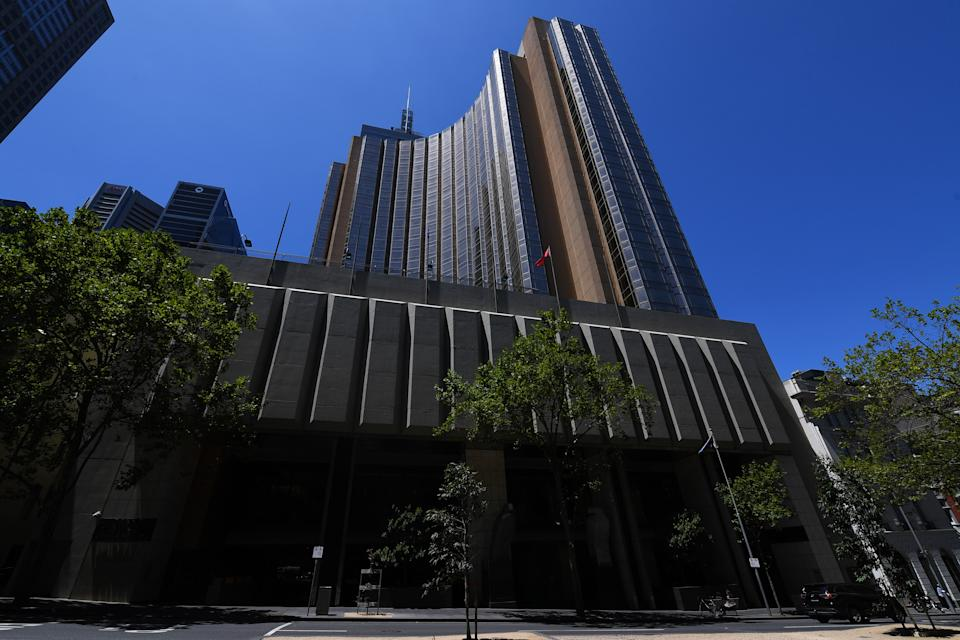 The worker who tested positive works at. the Grand Hyatt Melbourne in Melbourne. Source: AAP