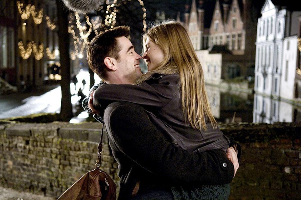 IN BRUGES, from left: Colin Farrell, Clemence Poesy, 2008. ©Focus Features/Courtesy Everett Collection
