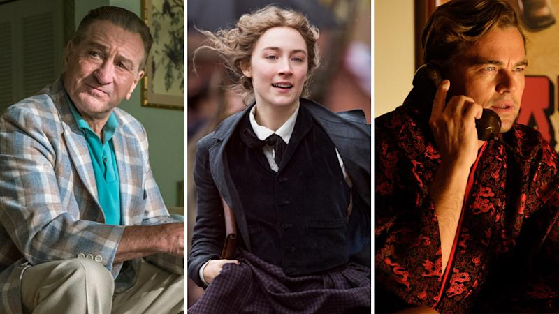 The Irishman (Netflix), Little Women (Sony), Once Upon a Time in Hollywood (Sony)