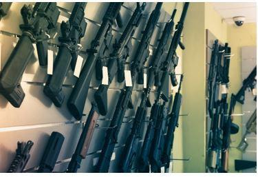 The Bureau of Alcohol, Tobacco, Firearms and Explosives is offering a reward leading to the arrest of dozens of looters who stole 29 firearms from a store in Hayward, Calif.