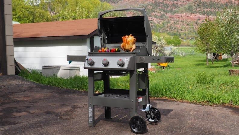 The Weber Spirit II E-310 remains the best gas grill we've tested.