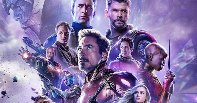 Black Widow Takes The Lead In Russian Avengers Endgame Poster