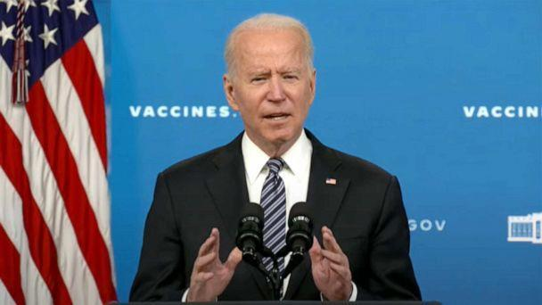 PHOTO: President Joe Biden delivers remarks on the COVID-19 Response and the Vaccination Program in Washington, May 12, 2021. (The White House)