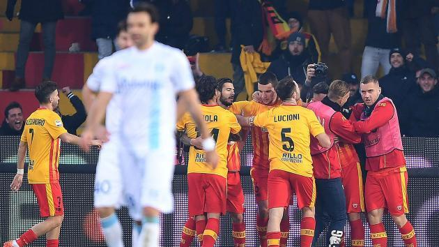 <p>Benevento finally win after worst-ever Serie A start</p>