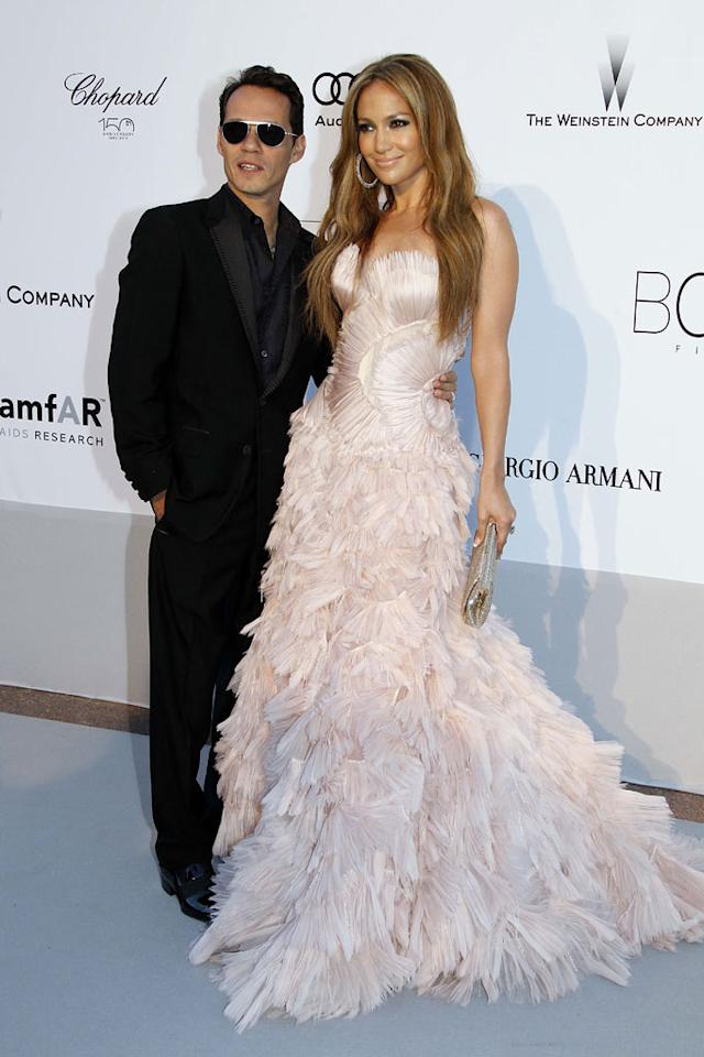"According to HollywoodLife, Jennifer Lopez and Marc Anthony recently renewed their vows in their new California home, and ""Brad Pitt and Angelina Jolie, Tom Cruise and Katie Holmes ... were just a few of the guests at the lavish affair."" Actually, that's not entirely accurate. Check out <a href=""http://www.gossipcop.com/jennifer-lopez-marc-anthony-renew-vows-tom-cruise-katie-holmes-brad-pitt-angelina-jolie/"" target=""new"">Gossip Cop</a> for the exclusive scoop from a guest at the party. Eric Ryan/<a href=""http://www.gettyimages.com/"" target=""new"">GettyImages.com</a> - May 20, 2010"