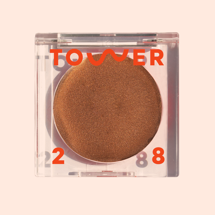 """<h3>Tower 28 Bronzino Illuminating<br>Cream Bronzer<br></h3> <br>""""If you know me, then you know I can't live without my <a href=""""https://www.sephora.com/product/beachplease-tinted-balm-blush-P449342"""" rel=""""nofollow noopener"""" target=""""_blank"""" data-ylk=""""slk:Tower 28 Beach Please Luminous Tinted Balm"""" class=""""link rapid-noclick-resp"""">Tower 28 Beach Please Luminous Tinted Balm</a> — it's my everyday blush that feels so good on my skin and leaves it with the perfect flush. That's why, when the brand announced it was launching a cream bronzer counterpart, I was more than ready to give it a try. Unsurprisingly, this bronzer leaves me with a glowy, dimensional sheen that doesn't look chalky or overly shimmery."""" — Diaz<br><br><strong>Tower 28</strong> Bronzino Illuminating Cream Bronzer, $, available at <a href=""""https://go.skimresources.com/?id=30283X879131&url=https%3A%2F%2Fwww.tower28beauty.com%2Fproducts%2Fbronzino-illuminating-bronzer%3Fvariant%3D31790423113783"""" rel=""""nofollow noopener"""" target=""""_blank"""" data-ylk=""""slk:Tower 28"""" class=""""link rapid-noclick-resp"""">Tower 28</a><br>"""