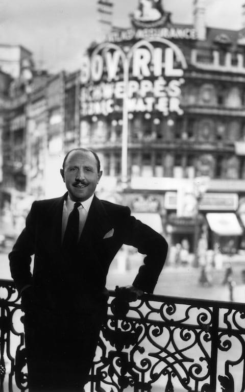 Sir Charles Forte in 1953 - Credit: Getty Images