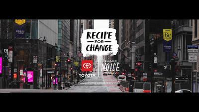 Make Noise Today: Recipe for Change notable chefs bring food to older adults, essential workers, and others impacted by COVID-19 in New York, Los Angeles, and San Francisco.