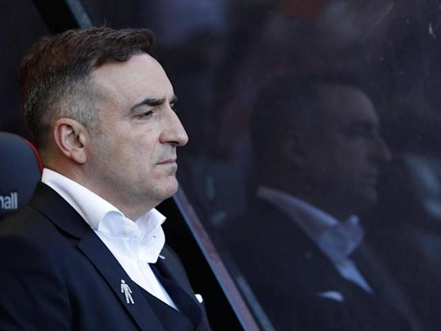 Carlos Carvalhal backs his goal-shy forwards to keep Swansea up after wasteful display at Bournemouth