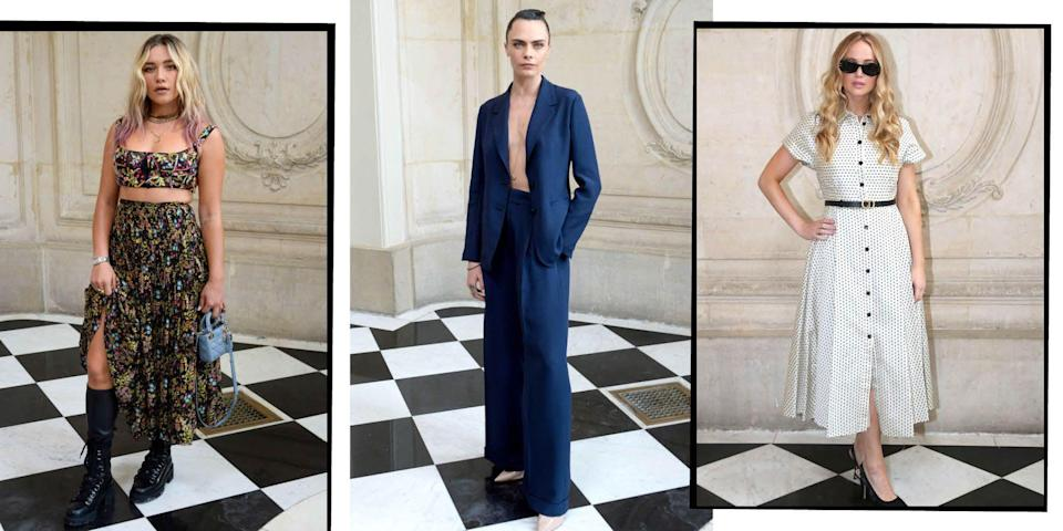 <p>While whatever is on the runway can be totally awe-inspiring, it's often the front row- or the FROW as we like to call it - that catches our eye. Though physical shows are still sparse, there's enough to have a snoop at the who's who of the fashionable right now.</p>