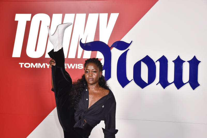 MILAN, ITALY - SEPTEMBER 16: Michaela DePrince attends the Tommy Hilfiger presentation in Milan during the Milan Fashion Week Spring/Summer 2020 on September 16, 2019 in Milan, Italy. (Photo by Pietro D'aprano/Getty Images)