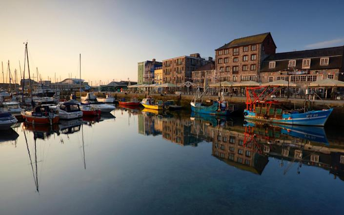 Plymouth, UK - Getty