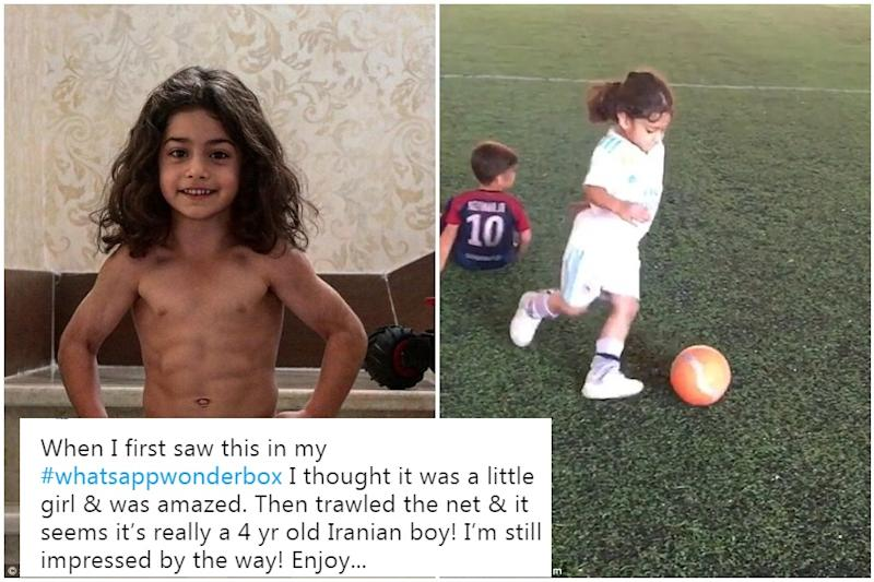 Anand Mahindra 'Discovers' 5-Year-Old Football Prodigy from Iran and Twitter is Floored