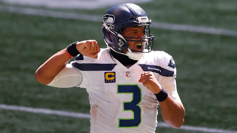Russell Wilson has full command of the Seattle Seahawks. (Photo by Kevin C. Cox/Getty Images)
