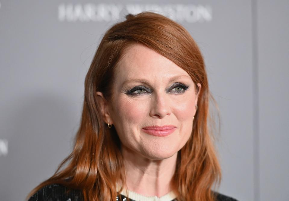 Julianne Moore reflects on turning 60. (Photo: ANGELA WEISS/AFP via Getty Images)