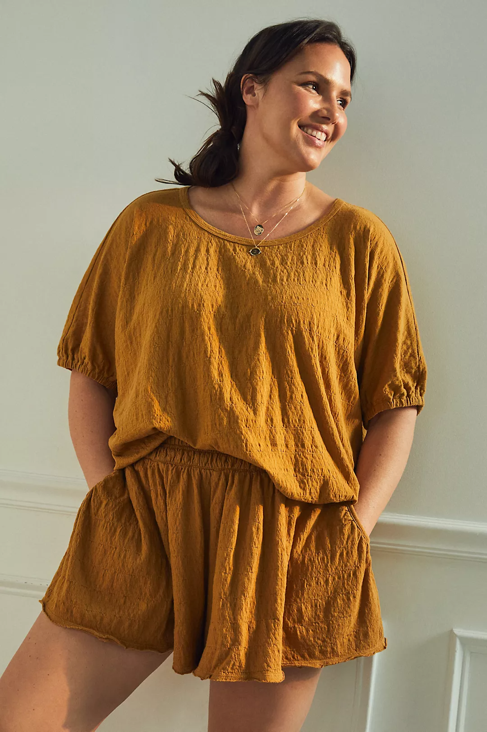 """<h2>Daily Practice by Anthropologie Kimberly Shorts</h2><br><strong>Size Range: 1X-3X</strong><br><br><em>Shop <strong><a href=""""https://www.anthropologie.com/shop/daily-practice-by-anthropologie-kimberly-shorts"""" rel=""""nofollow noopener"""" target=""""_blank"""" data-ylk=""""slk:Anthropologie"""" class=""""link rapid-noclick-resp"""">Anthropologie</a></strong></em><br><br><strong>Daily Practice by Anthropologie</strong> Daily Practice by Anthropologie Kimberly Shorts, $, available at <a href=""""https://go.skimresources.com/?id=30283X879131&url=https%3A%2F%2Fwww.anthropologie.com%2Fshop%2Fdaily-practice-by-anthropologie-kimberly-shorts"""" rel=""""nofollow noopener"""" target=""""_blank"""" data-ylk=""""slk:Anthropologie"""" class=""""link rapid-noclick-resp"""">Anthropologie</a>"""