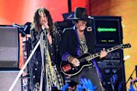 "<p><strong>Aerosmith </strong></p><p>""The bad boys from Boston"" were formed in, duh, Boston, Massachusetts. Aerosmith soared at their peak with members Steven Tyler, Joe Perry, Tom Hamilton, Joey Kramer, and Brad Whitford, constantly pushing boundaries from pop rock, heavy metal and even rhythm and blues. </p>"