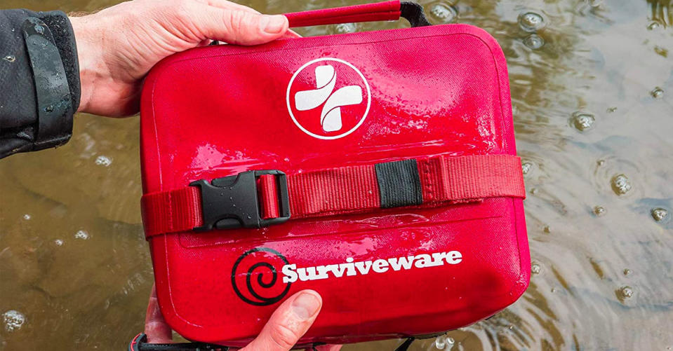 With Survivewear you're always prepared — like a Boy Scout! Save on safety with this one-day sale. (Photo: Amazon)